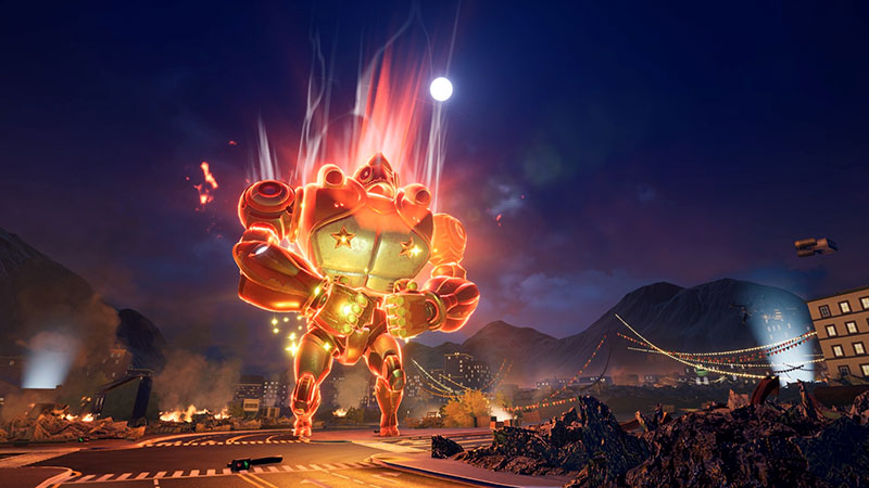 Debe ser por Robot Chow! - Override: Mech City Brawl
