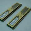 OCZ DDR2 PC2-8800 Gold Dual Channel