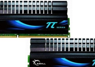 GSkill Pi Series DDR3-1600 (2x2GB)