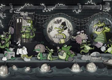 Frankenweenie, la nueva película de Tim Burton, cobra vida en el juego gratuito para móviles de Disney ¿Dónde está mi agua?