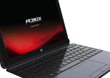 Tablet Convertible PCBOX 2 en 1