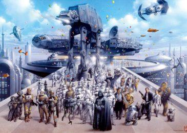 Star Wars: Ilustraciones de Tsuneo Sanda