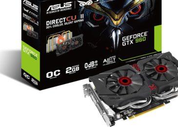 ASUS Strix Geforce GTX 960 OC 2GB