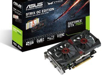 ASUS Strix Geforce GTX 750Ti OC 2GB