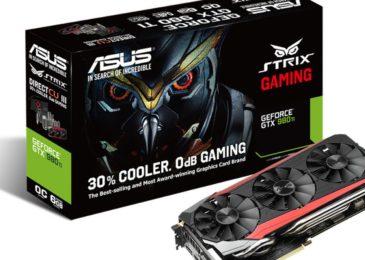 ASUS anuncia la Strix GTX 980 Ti