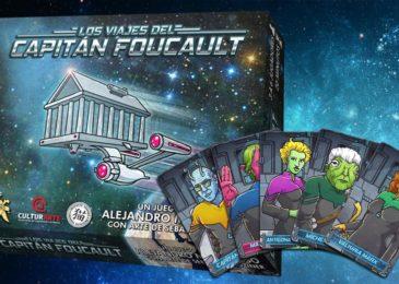 Los viajes del Capitán Foucault, juego de mesa argentino