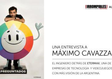 ETERMAX: Máximo Cavazzani y su impresionante visión sobre la tecnología