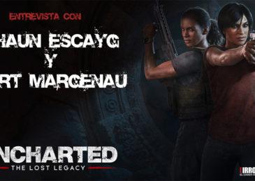 Entrevista con Shaun Escayg y Kurt Margenau de Naughty Dog