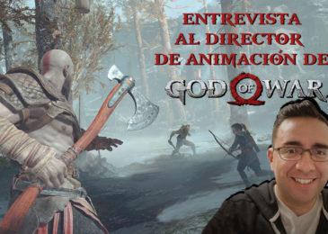 Entrevistamos al Director de Animación de God of War
