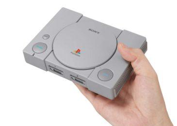 """Se viene la """"Play Mini"""": anuncian PLAYSTATION CLASSIC con 20 juegos"""