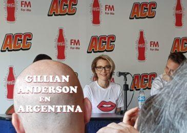 Gillian Anderson visitó Argentina y no pudimos preguntarle nada
