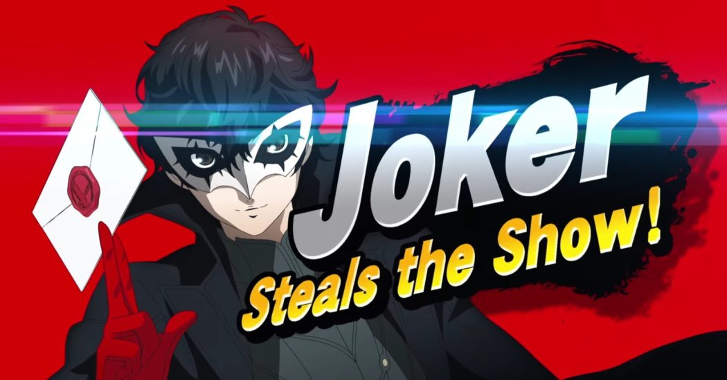Challenger approaching: ¡Joker se suma a Super Smash Bros. Ultimate!