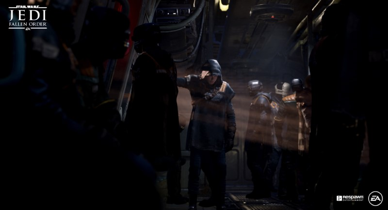 STAR WARS JEDI: FALLEN ORDER oscuridad