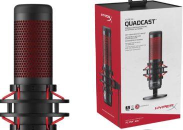 QuadCast: La bestia de micrófono de HyperX
