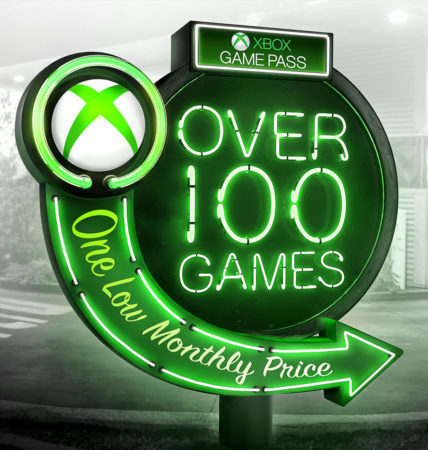 Xbox Game Pass PC letrero