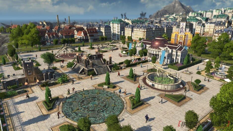 anno 1800 Plaza