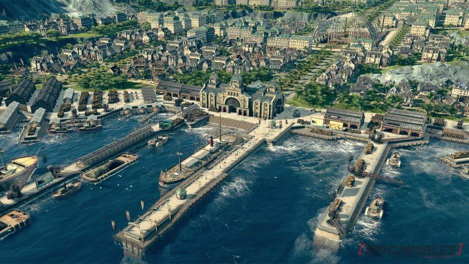 anno 1800 puertos