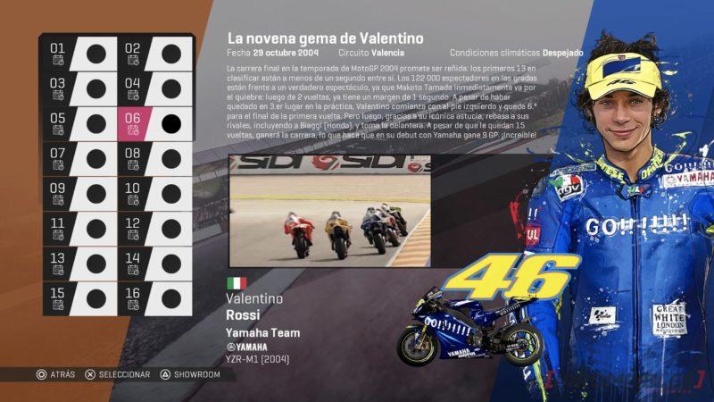 MotoGP19 leyenda