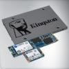 Kingston cuenta con una familia completa de SSD para todas las utilidades