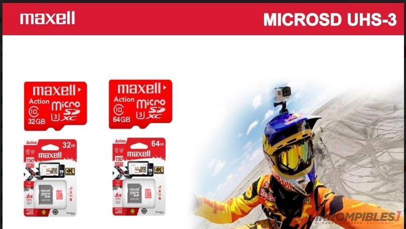 Maxell MicroSD UHS-3