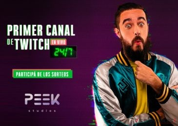 Peek Studios: Nace el primer canal de Twitch que transmite las 24hs