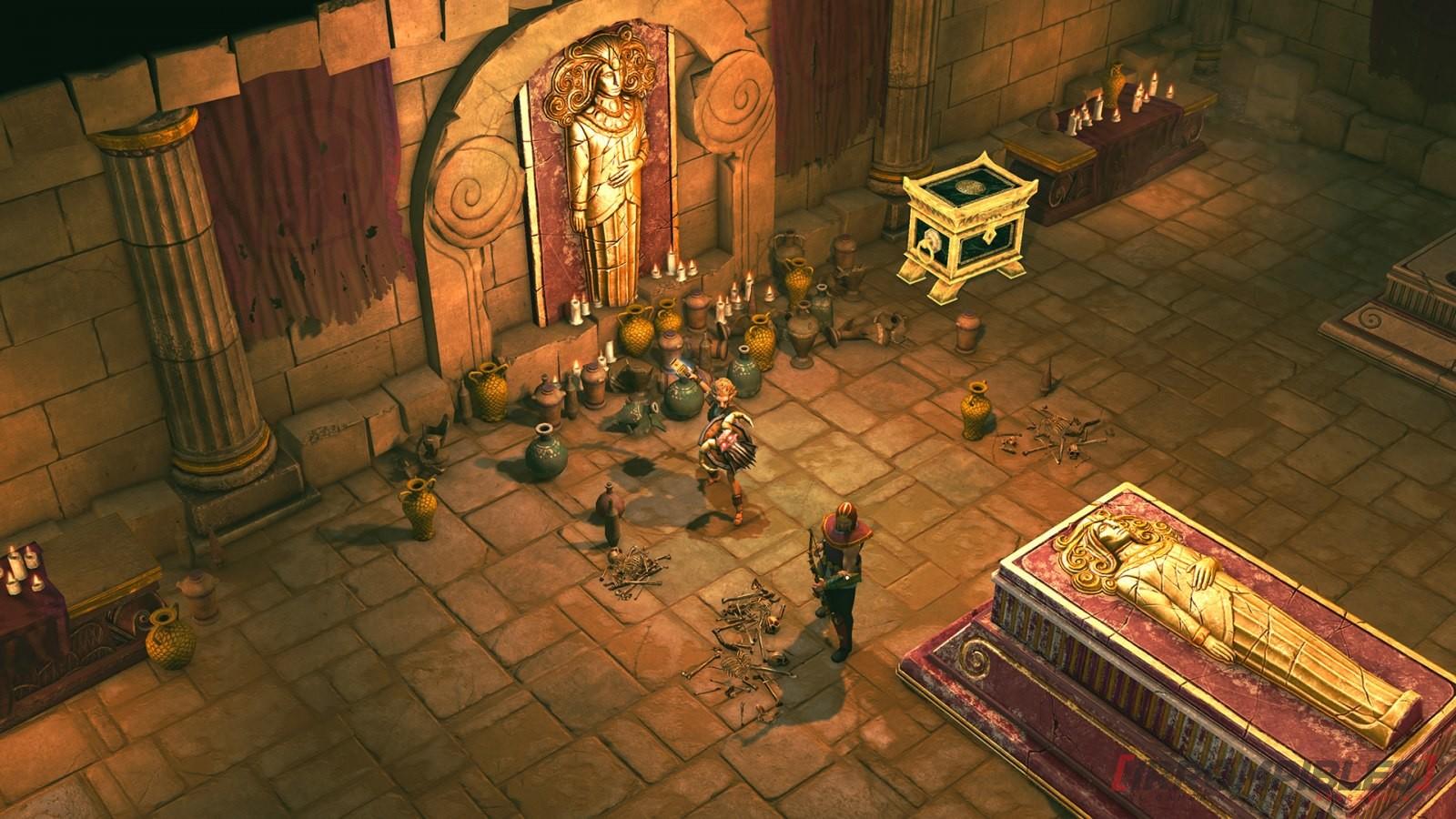 Titan Quest: Atlantis puerta