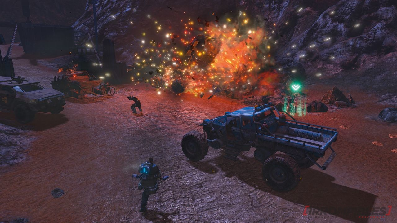 RED FACTION GUERRILLA SWITCH kaboom