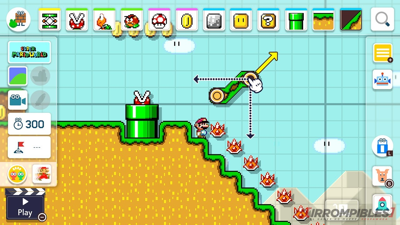 Super Mario Maker 2 coso