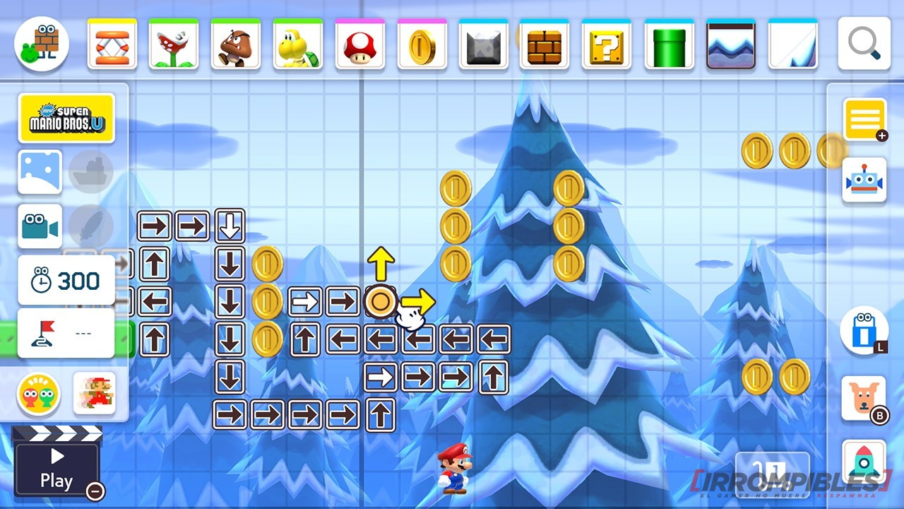 Super Mario Maker 2 monedas