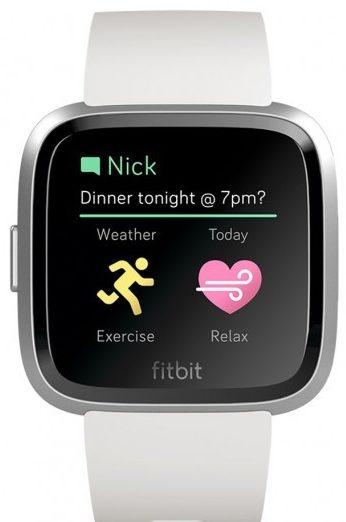 Fitbit Versa Lite notificaciones
