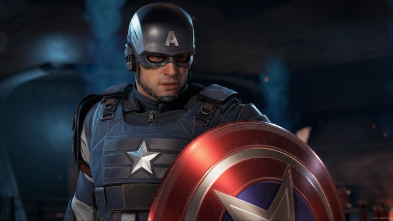 Marvel's Avengers gameplay Capi America