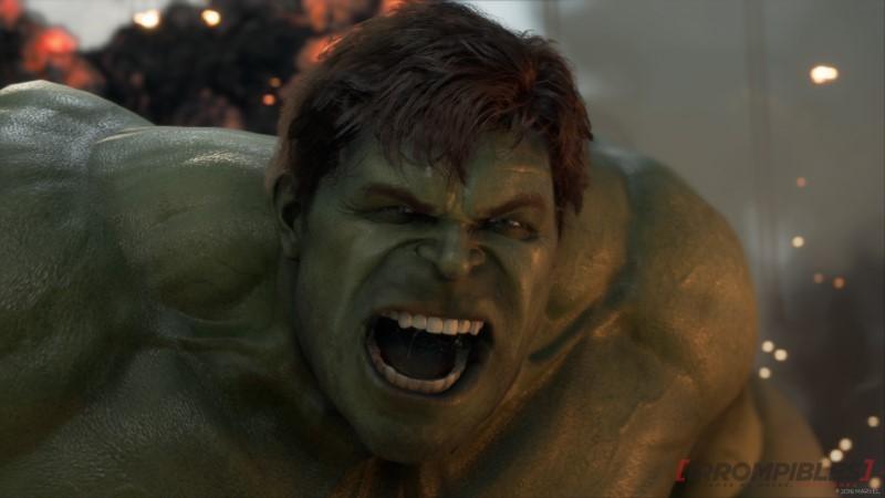 Marvel's Avengers gameplay Hulk