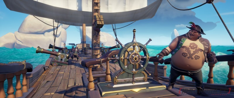 Sea of thieves Dark Relics ropa