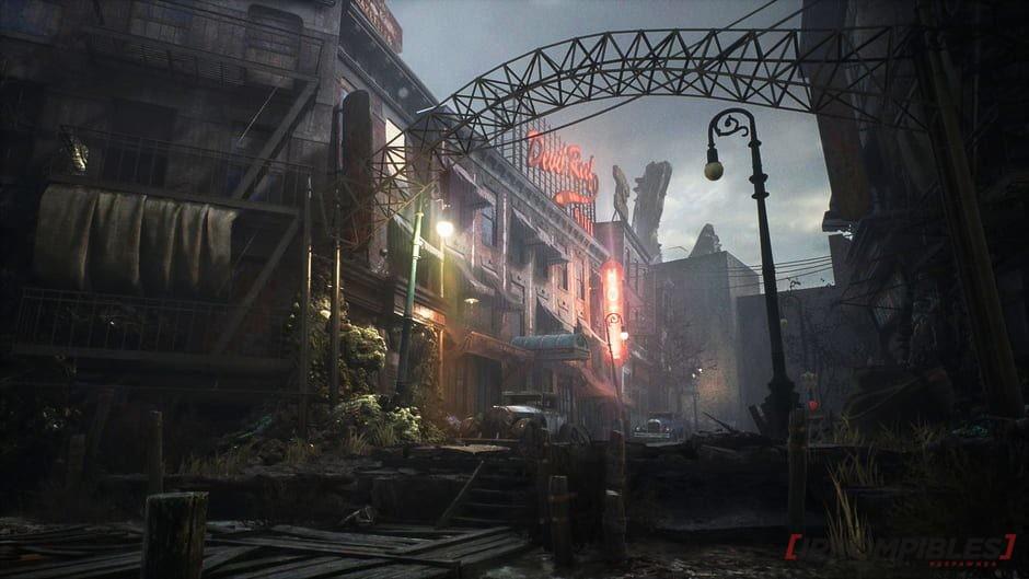 The sinking city arcada