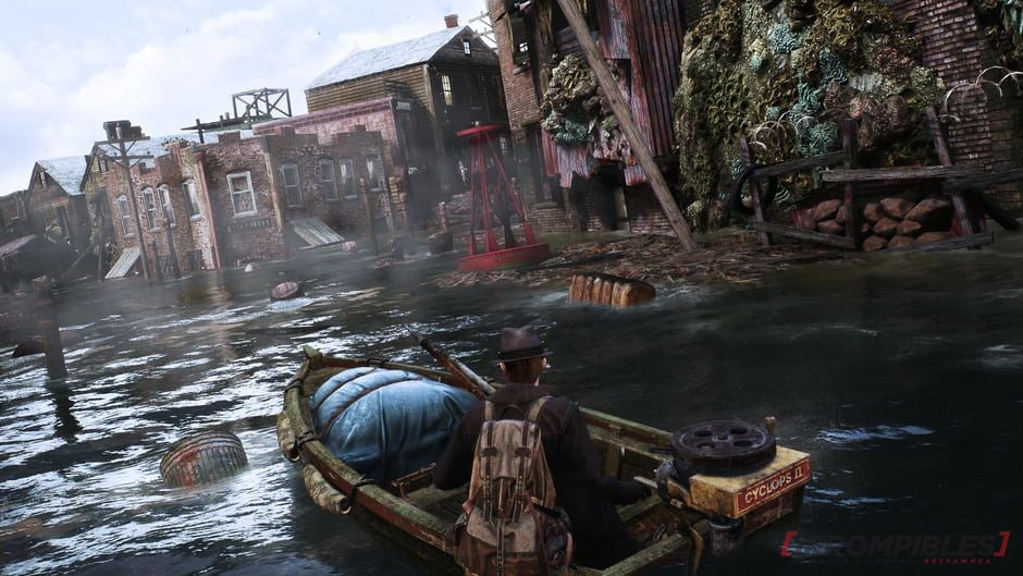 The sinking city bote