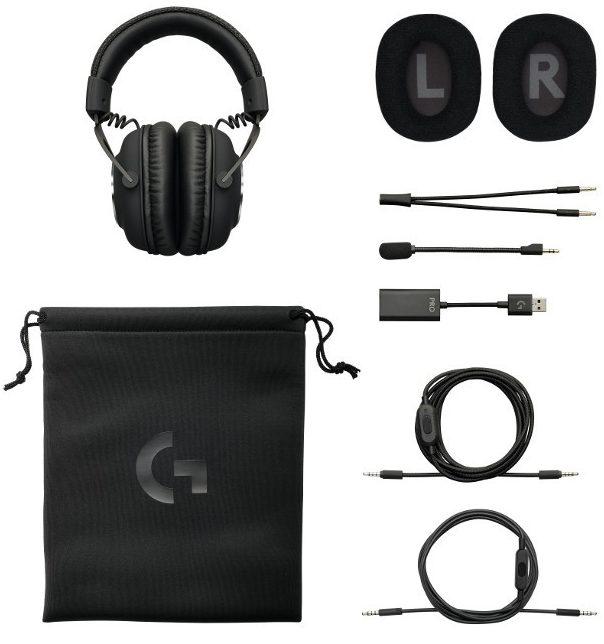 Logitech G Pro X caja