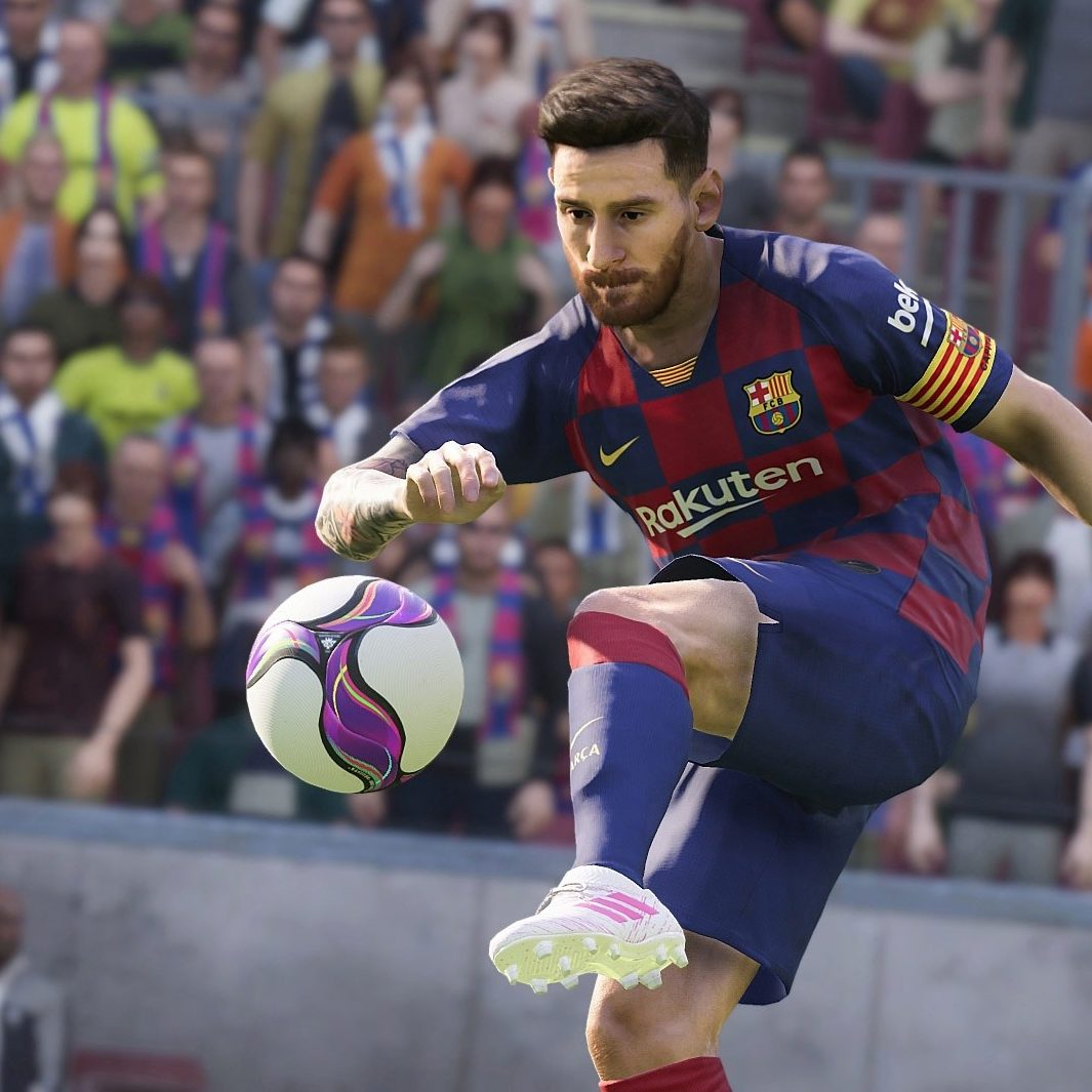 eFootball PES 2020 messi