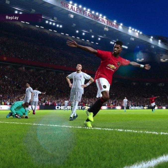 eFootball PES 2020 goal
