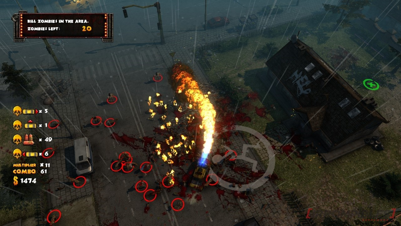 Zombie driver - Immortal edition flame