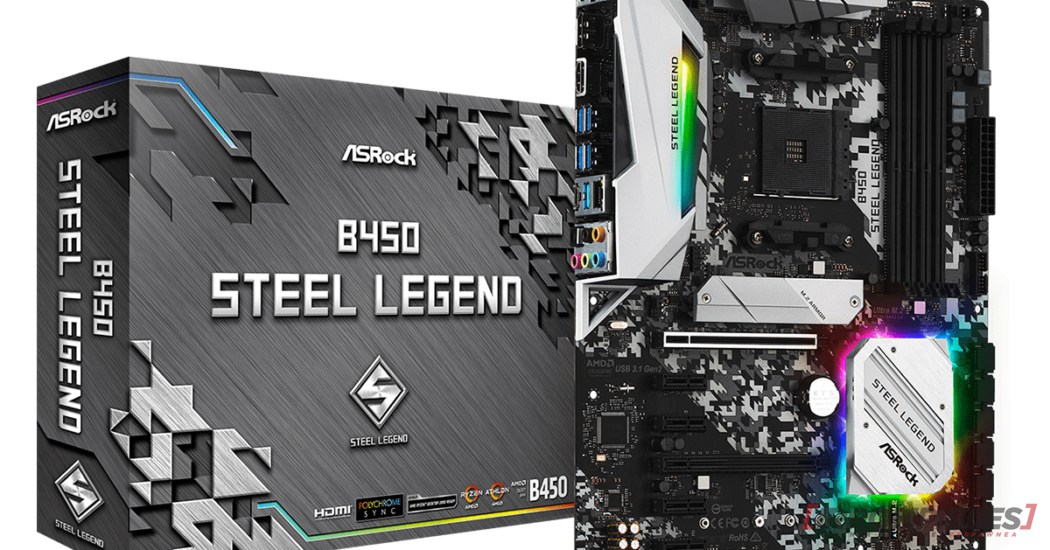 ASROCK B450 Steel Legend dimensiones