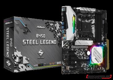 ASROCK B450 Steel Legend [REVIEW]
