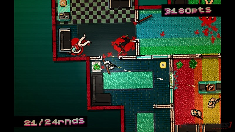 Hotline Miami Collection shooting