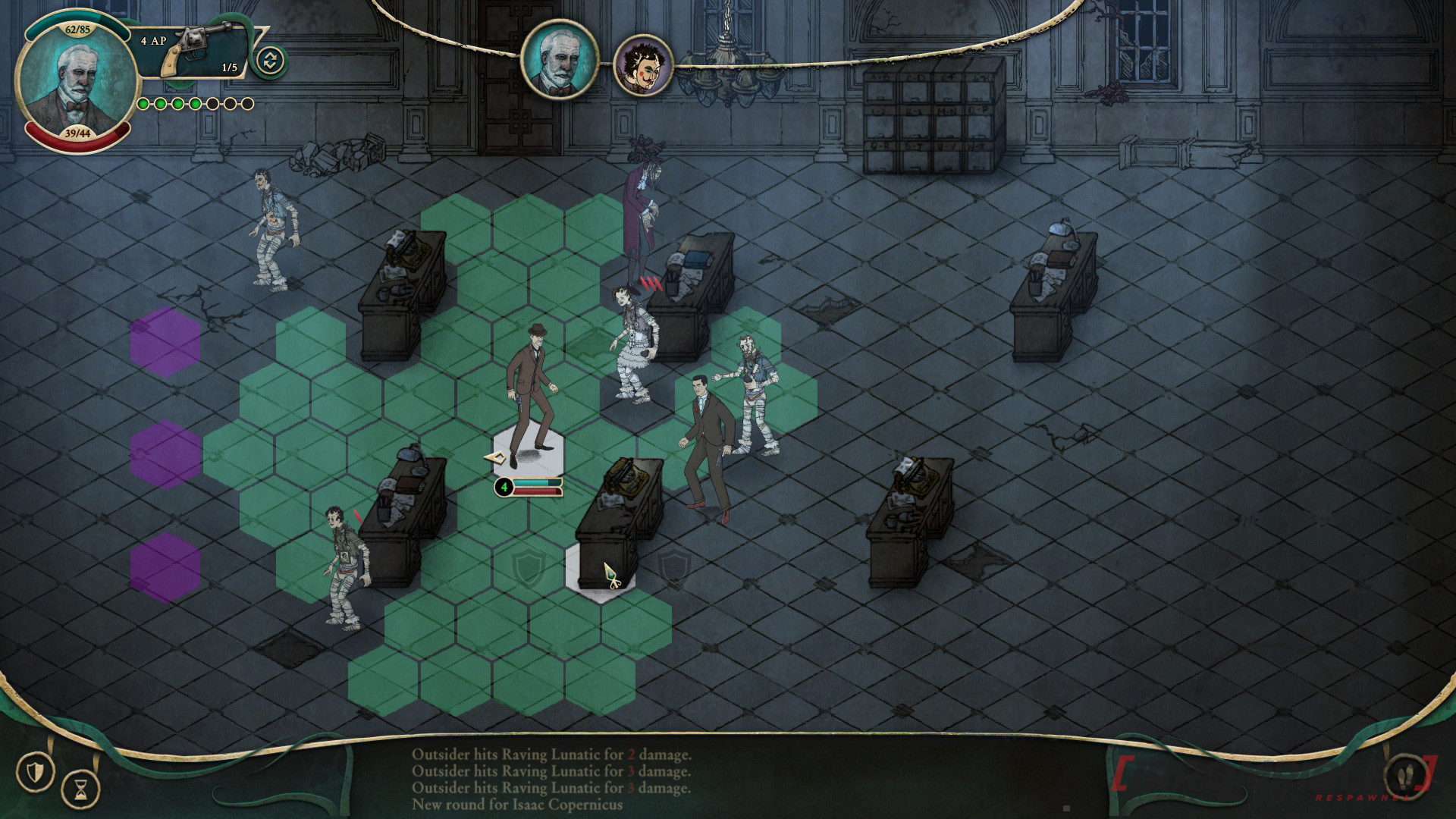 Stygian: Reign of the Old Ones turn based
