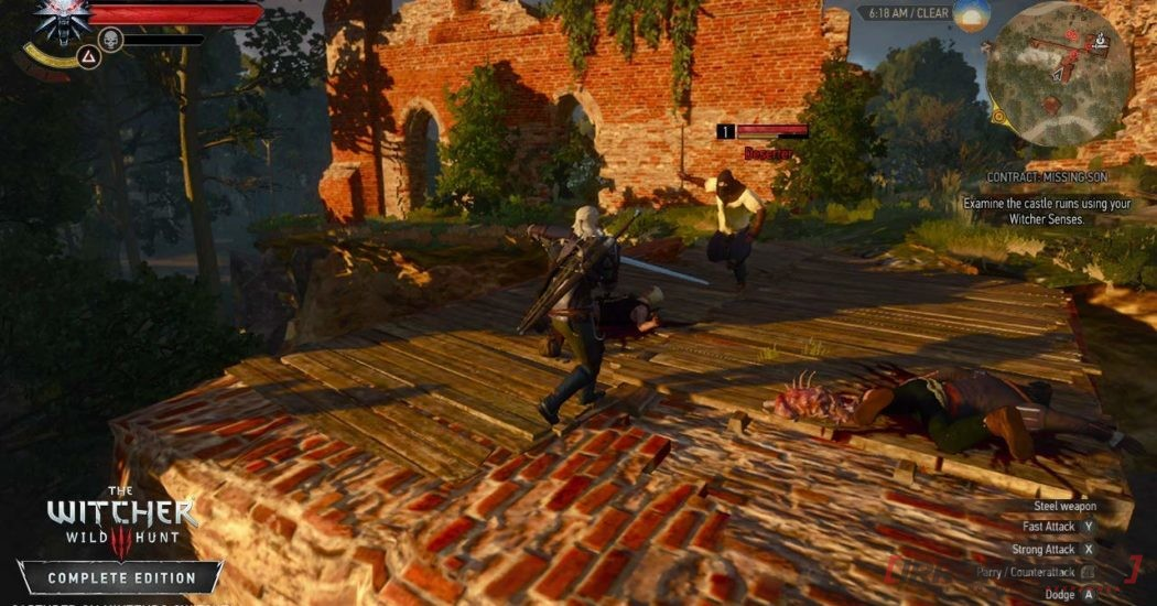 The Witcher III Wild Hunt DOCK