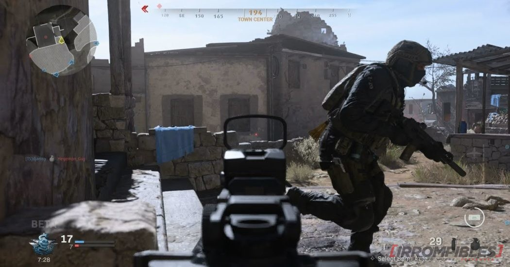 Call of Duty Modern Warfare  modalidad