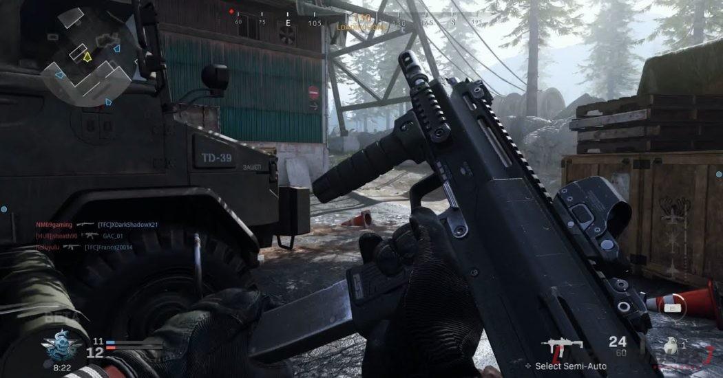Call of Duty Modern Warfare armas
