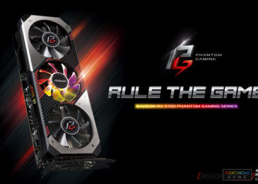 ASRock presenta la línea de placas de video Phantom Gaming Radeon RX 5700