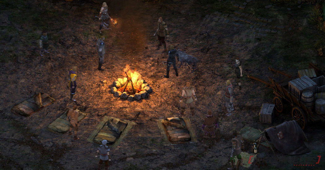 Pillars of Eternity Complete Edition fogata