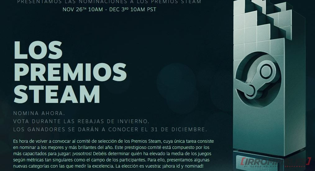 Steam Autumn Sale 2019 premios