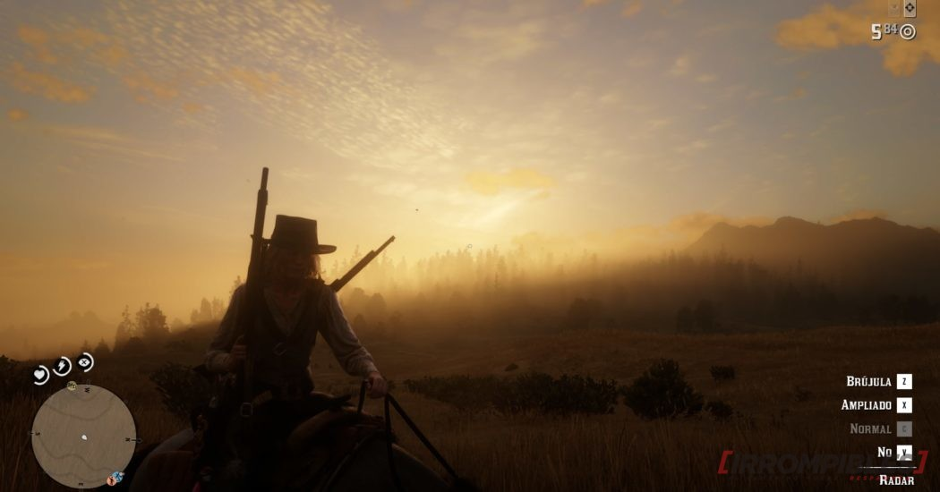 red dead redemption 2 gráficos